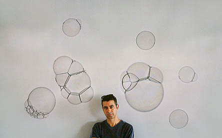 Artist with Photogram